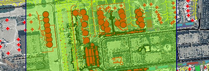 Safety, security, and operations are all critical functions for daily operations using ArcGIS